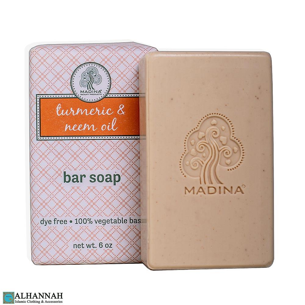Halal Tumeric & Neem Soap