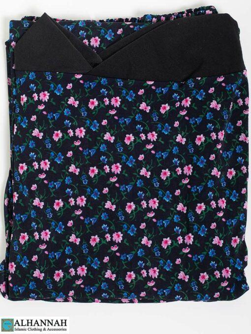 2 Piece Prayer Outfit -Blueberry Calico