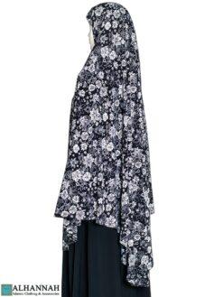 Extra Long Amirah Hijab Flora Bouquet Print