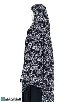 Extra Long Amirah Hijab Floral Garden Print