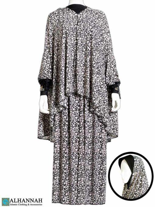 2 Piece Prayer Outfit Damask Vines