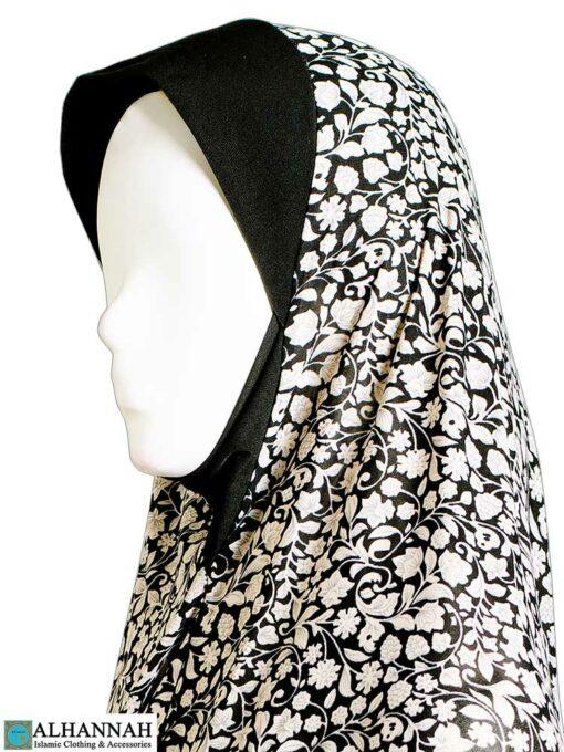 2 Piece Prayer Outfit Damask Vines Close Up