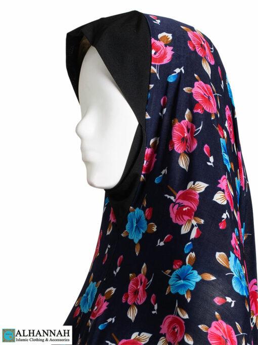 2 Piece Prayer Outfit Floral Tropics Close-Up