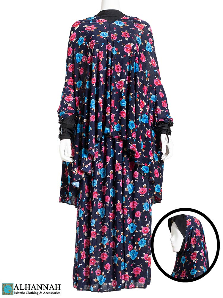 2 Piece Prayer Outfit Floral Tropics