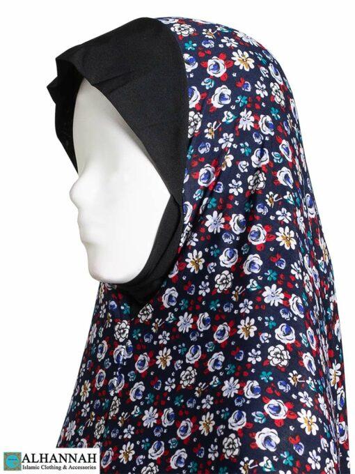 2 Piece Prayer Outfit Wildflower Print Close Up