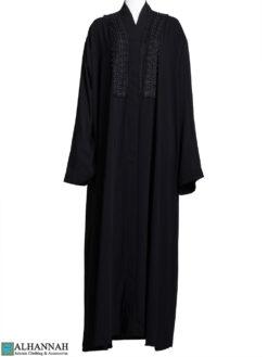 Arabesque Applique Abaya ab796 (1)
