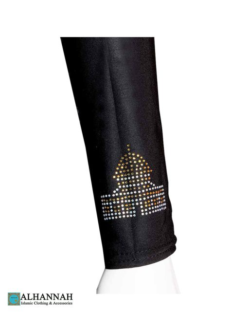 Beaded Dome of the Rock Design on Sleeve
