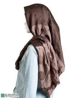 Duotone Bubble Shayla Hijab hi2321