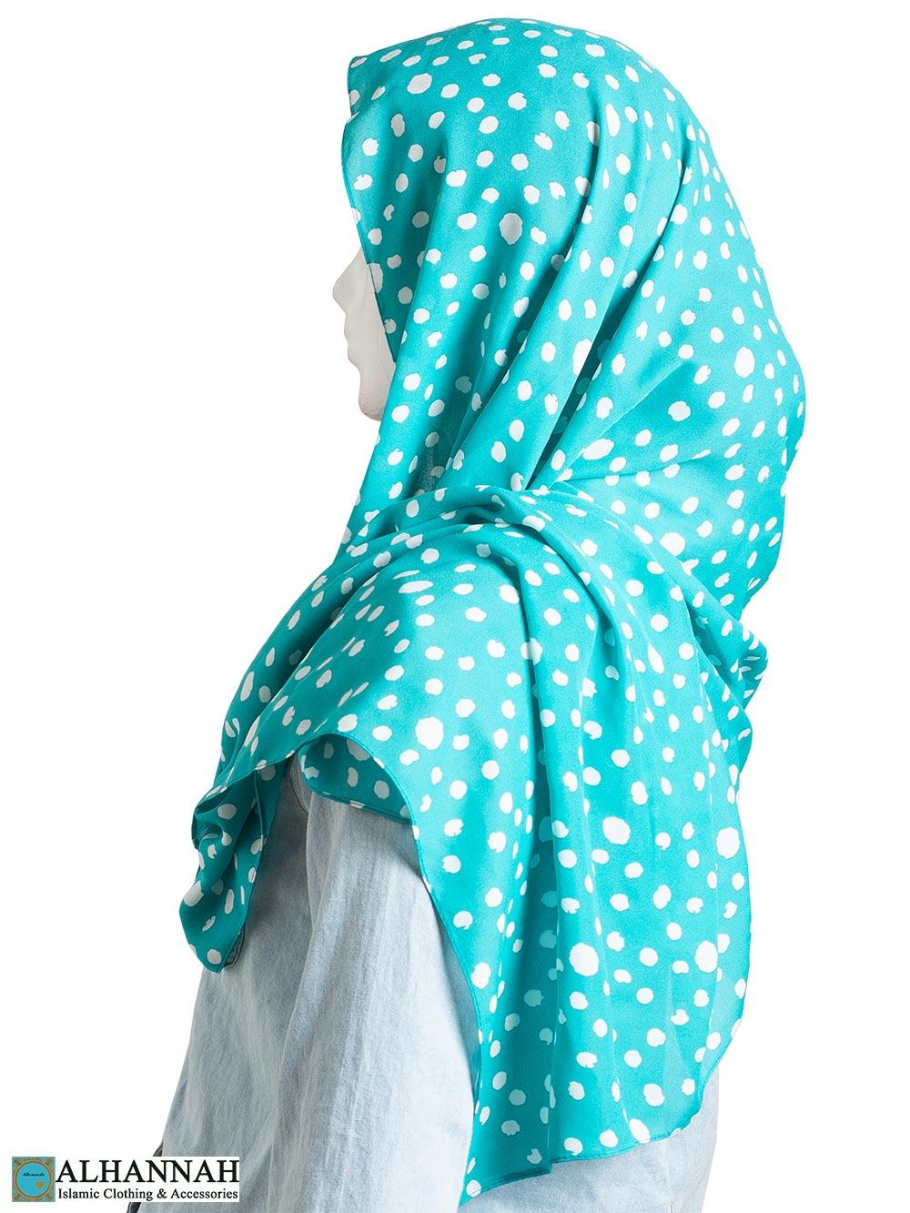 Flowing-Cotton Print Shayla Hijab hi2300