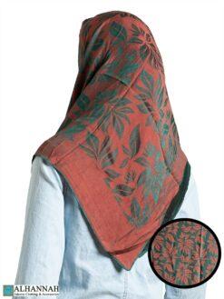 Forest Brush Reversible Square Hijab hi2324