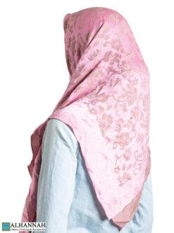 Hibiscus Reversible Square Hijab hi2327 (1)