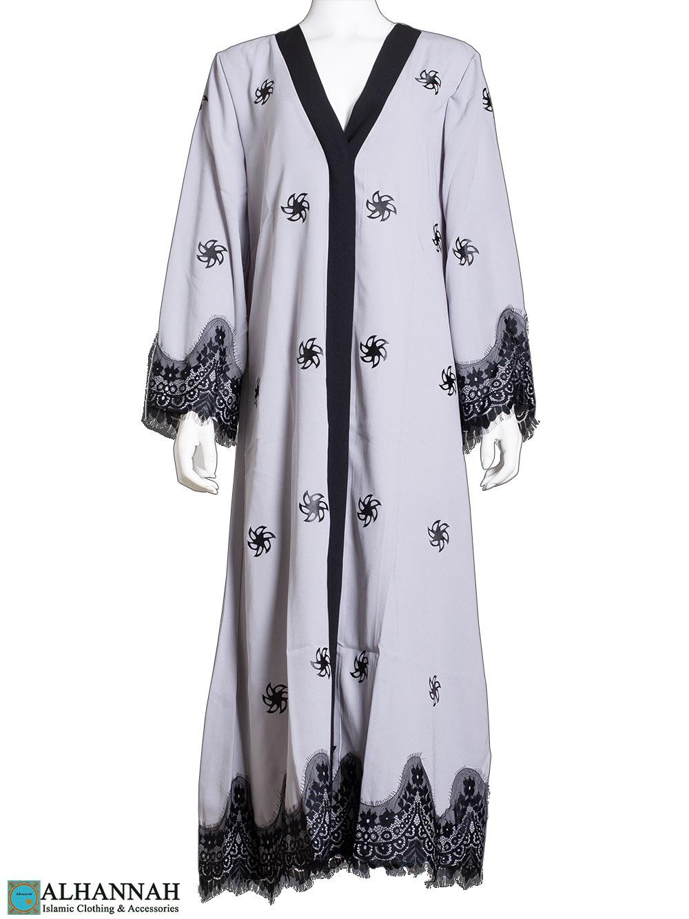 Lace-Wrap-Abaya-in-Classic-Grey ab815