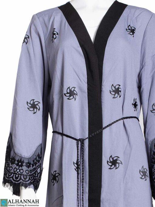 Lace-Wrap-Abaya-in-Slate-Closeup ab814