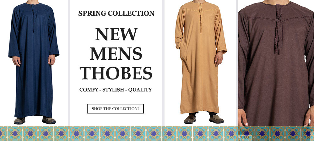 New Mens Thobes Spring
