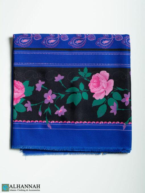 Paisley Rose Square Hijab hi2331