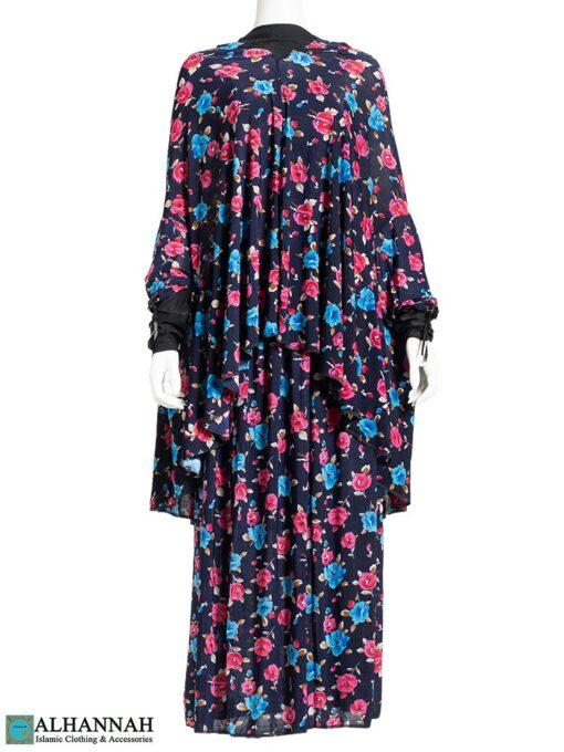2 Piece Prayer Outfit Floral Tropics Print 2