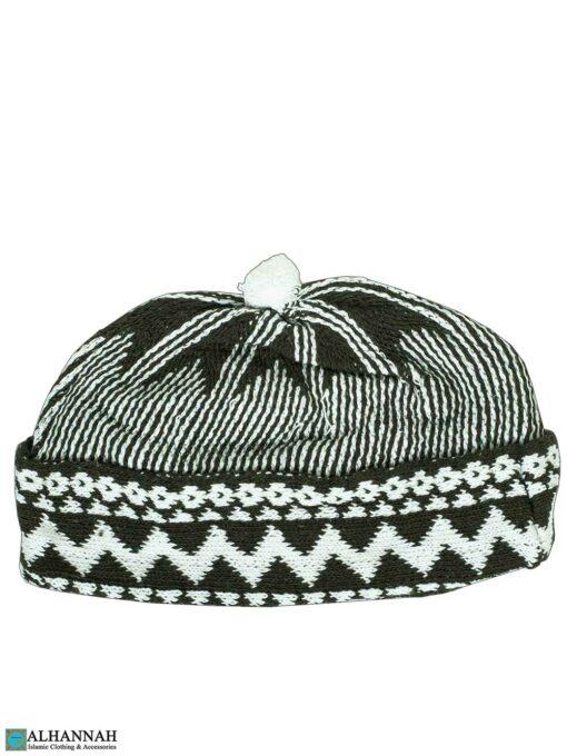 Muslim Wool Blend Knit Cap - Dark PIne