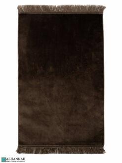 Solid Color Prayer Rug - Brown