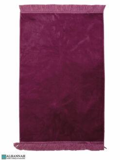 Solid Color Prayer Rug - Rose