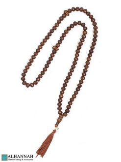 Brown Tasbih - 99 Bead Set