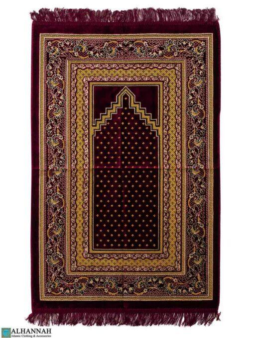 Turkish Prayer Rug - Maroon