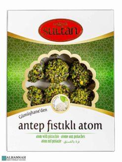 Antep Fistikli Atom - Turkish Pistachio Balls