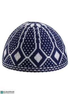 Blue Kufi Cap