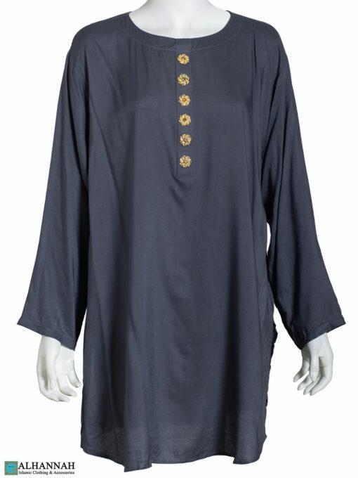 Classic Womens Kurta Persian Blue