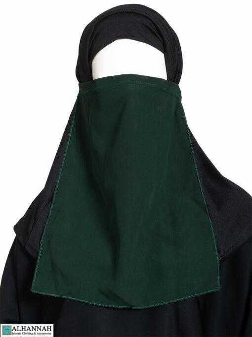 Half Niqab in Green