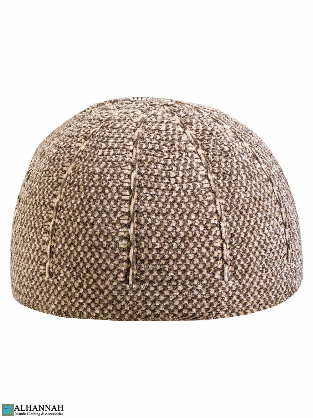 Tan Kufi Cap