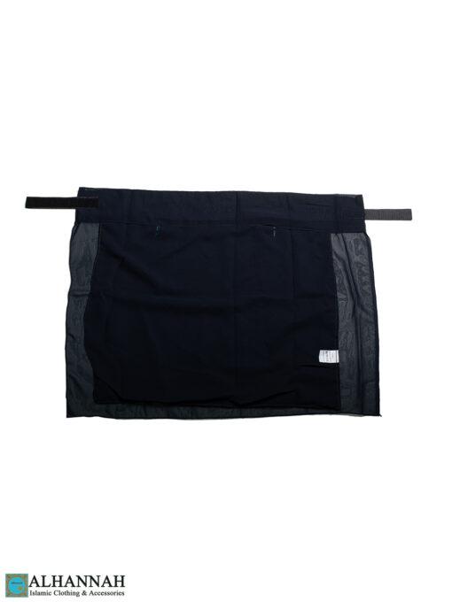 Two Layer Niqab NI160 navy