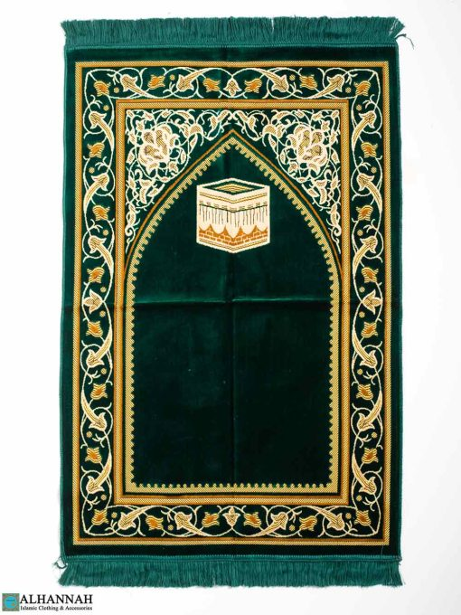 Big & Tall Prayer Rug - Emerald