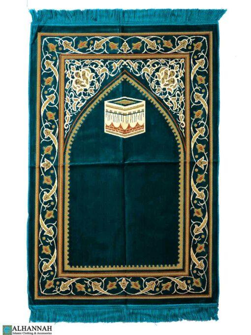 Big & Tall Prayer Rug - Turquoise