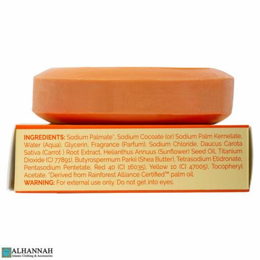 Halal Carrot Soap Ingredients