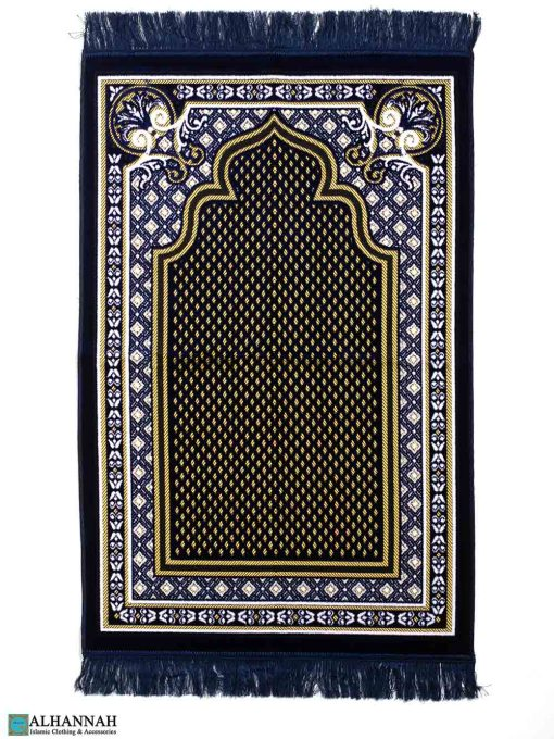 Islamic Prayer Rug - Blue