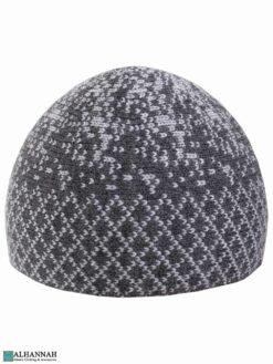 Turkish Kufi Hat in Grey Tones