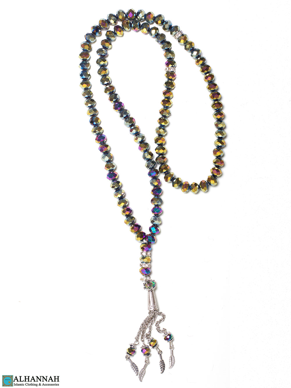 Crystal Prayer Beads 99 Iridescent Tones
