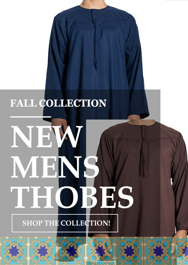 New Men Thobes Fall 2021