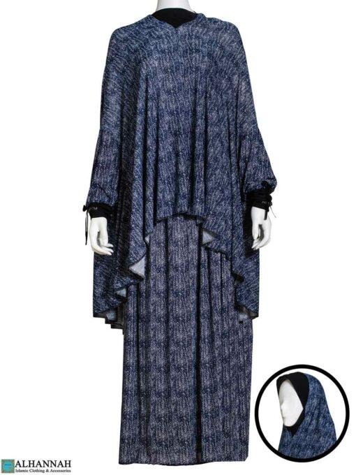 2 Piece Prayer Outfit - Blue Print