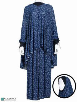 2 Piece Prayer Outfit - Navy